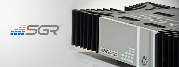 SGR Audio Stereo Power Amplifier
